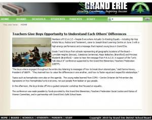Grand Erie District School Board  HOME
